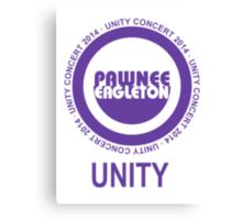 Pawnee Eagleton Unity Concert 2014 Canvas Print