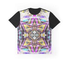 Mandala Digital Nu Dop Graphic T-Shirt