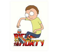 Rick To The Morty Art Print