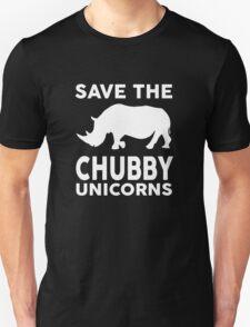 Save the Chubby Unicorns Unisex T-Shirt