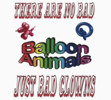 No bad balloon animals by KpncoolDesigns