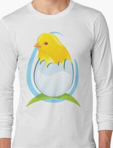 chicken in egg Long Sleeve T-Shirt