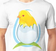 chicken in egg Unisex T-Shirt
