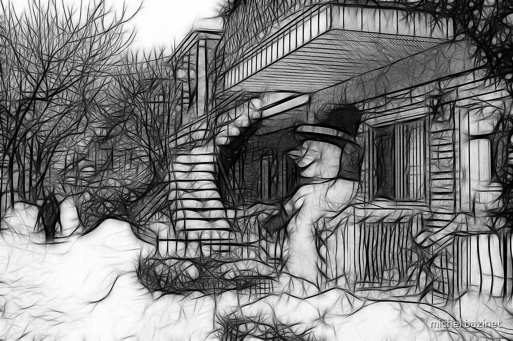The Snowman by michel bazinet
