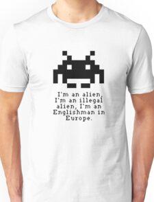 Alien in Europe (brexinvaders)  Unisex T-Shirt