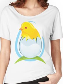 cute colored chicken Women's Relaxed Fit T-Shirt