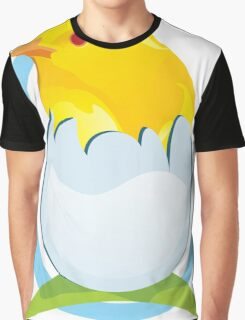 cute colored chicken Graphic T-Shirt