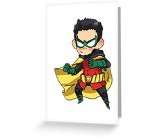 Batman & Robin || Damian Wayne Greeting Card