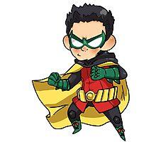 Batman & Robin || Damian Wayne Photographic Print