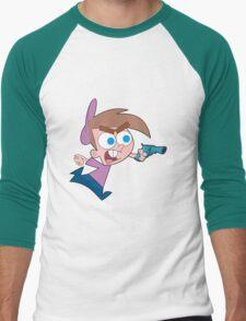 Panda's Desiigner XXL Freestyle style - Timmy timmy timmy turner! Men's Baseball ¾ T-Shirt