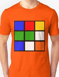 Rubik's Cube Design Unisex T-Shirt