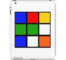 Rubik's Cube Design iPad Case/Skin