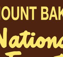 Mount Baker National Forest Sticker