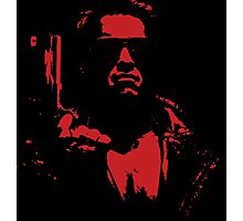 Terminate Red Photographic Print