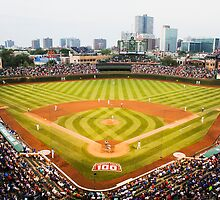 Wrigley Field 100 by michaelroman