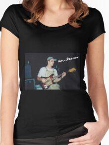 Mac + Guitar  Women's Fitted Scoop T-Shirt