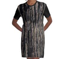 Line Art - old tree pattern no. 2 Graphic T-Shirt Dress