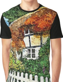 COUNTRY COTTAGES 25D2 Graphic T-Shirt