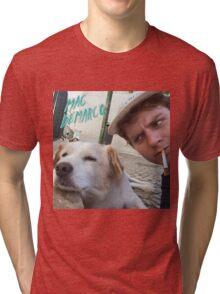 Mac Demarco's dog selfie Tri-blend T-Shirt