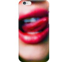 Sins of their mouths iPhone Case/Skin