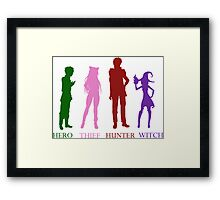 The Heroes Framed Print