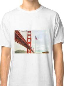 San Francisco California USA, Golden Gate Bridge Classic T-Shirt