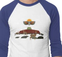 In the desert  Men's Baseball ¾ T-Shirt