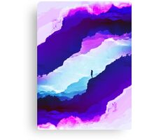 Violet dream of Isolation Canvas Print