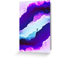 Violet dream of Isolation Greeting Card