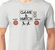 NINTENDO GAME & WATCH Unisex T-Shirt
