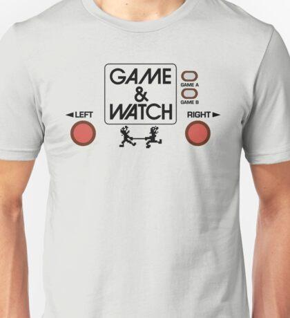 NINTENDO GAME & WATCH Unisex T-Shirt