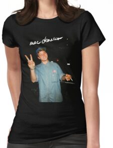 Mac Demarco  Womens Fitted T-Shirt