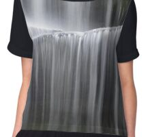 Miami County Falling Water Chiffon Top