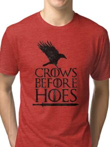 Game of Thrones - Crows Before H*es Tri-blend T-Shirt