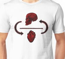 Put your heart above your head Unisex T-Shirt