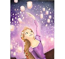 Tangled Concept Art | I See The Light  Photographic Print
