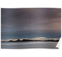sunset, cruden bay Poster