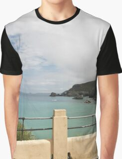 St Agnes to Holywell Graphic T-Shirt