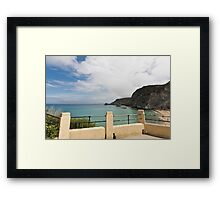 St Agnes to Holywell Framed Print