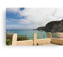 St Agnes to Holywell Canvas Print