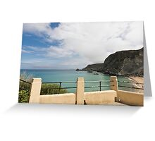 St Agnes to Holywell Greeting Card