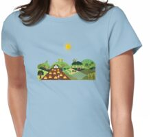 Valley farm Womens Fitted T-Shirt