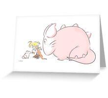 Miaou? Greeting Card