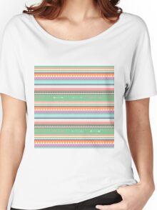 PASTEL ETHNIC ATAKAPA  Women's Relaxed Fit T-Shirt