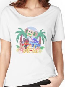 Pokemon Sun & Moon - Aloha Women's Relaxed Fit T-Shirt