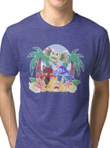 Pokemon Sun & Moon - Aloha Tri-blend T-Shirt