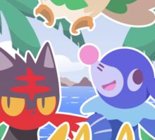 Pokemon Sun & Moon - Aloha Sticker