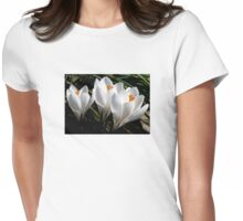 Spring Crocus  Womens Fitted T-Shirt