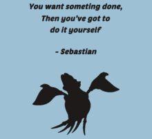 Sebastian Quote Kids Tee