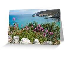 St Agnes Valerian Greeting Card
